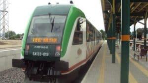 Motornik za povezavo na novi Baltski železnici med Litvo in Poljsko