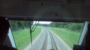 Edinstvena kombinacija široke, normalne in ozkotirne železnice