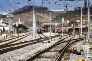 Železniška postaja Maribor prenova tiri
