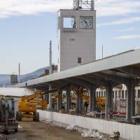 Železniška postaja Maribor prenova stolp
