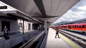 Železniška postaja Maribor novi peron